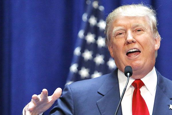 «الرئيس» دونالد ترامب يتعهد بإلغاء الاتفاق النووي مع إيران