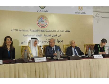 العربي يحمِّل «إسرائيل» والإرهاب مسؤولية عرقلة التنمية