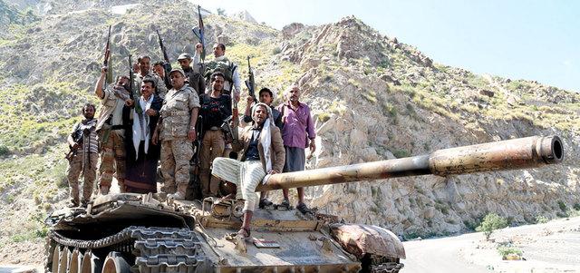 قوات الشرعية تواصل التقدم في الجوف وتصل إلى تخوم أرحب شمال صنعاء