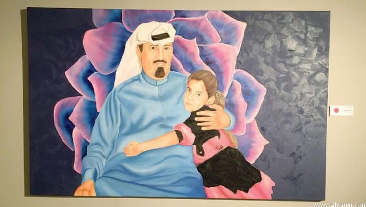 «جاليري روشان» بجدة يحتضن معرض «نقطة انطلاق» للأميرة هيفاء بنت عبدالله