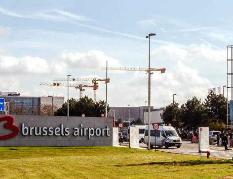 حركة خجولة في مطار بروكسل بعد فتحه جزئياً