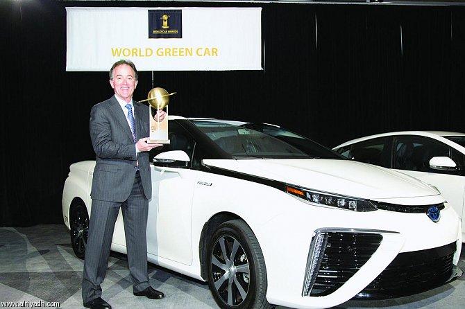 تويوتا ميراي تفوز بجائزة «أفضل سيارة صديقة للبيئة» للعام 2016