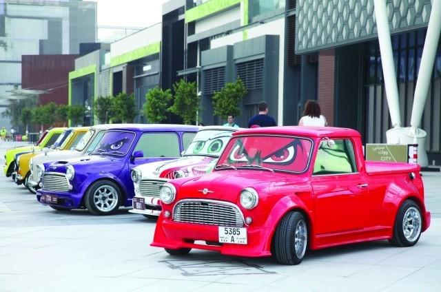 «سيتي ووك» وجهة محبي عالم السيارات