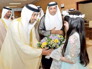 منصور بن زايد يؤكد دعم التوطين في القطاع المصرفي