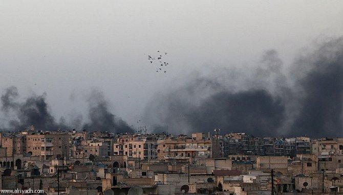 المملكة تدين وتشجب بشدة غارات قوات الأسد على مدينة حلب