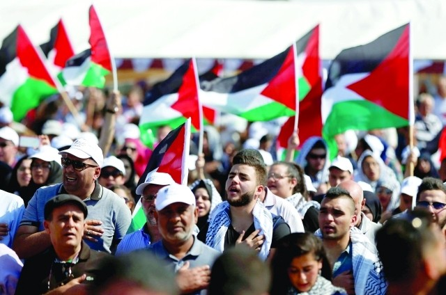 آلاف الفلسطينيين يحيون ذكرى النكبة في النقب المحتل