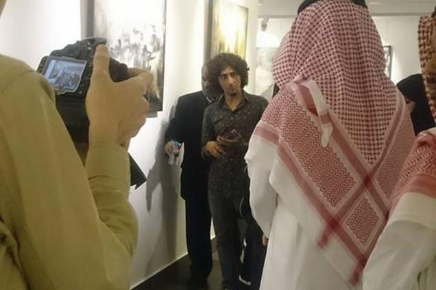 افتتحته الأميرة بسمة بنت سعود بـ«جاليري نسما آرت بجدة»:  معرض «شام» للفنان زهير طوله يصرخ بآلام سوريا