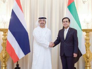 عبدالله بن زايد وشان أوشا يبحثان علاقات التعاون والصداقة