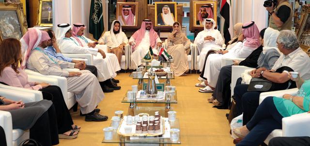 الأميرة بسمة بنت سعود توقّع «مسار القانون الرابع»
