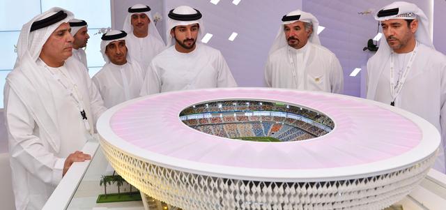 استاد محمد بن راشد بكلفة 3 مليارات درهم ويتسع لـ 60 ألف متفرج