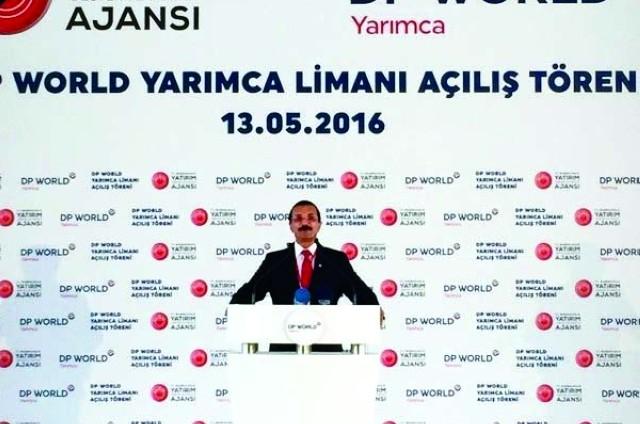 افتتاح محطة موانئ دبي العالمية في ياريمشا التركية
