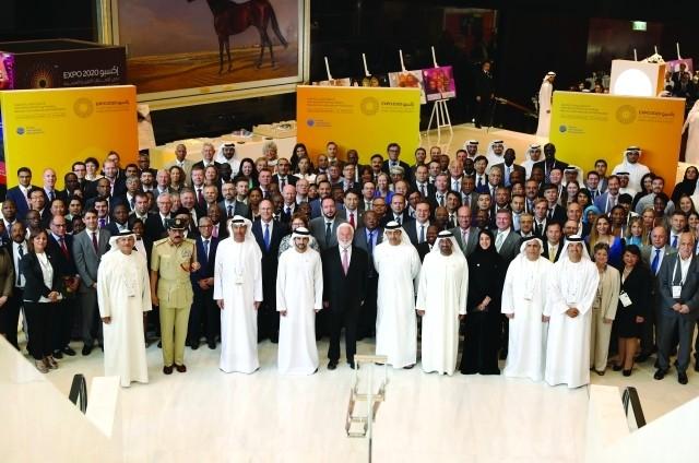 حمدان بـن محمد: شعبنا والعالم ينتظران إكسبو 2020 في دبي