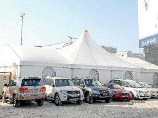 10 آلاف درهم غرامة نصب الخيم الرمضانية من دون تصريح