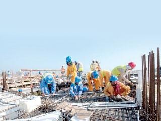 زيادة «محــدودة» في كلفة البناء رغم ارتفاع الحديد 60%