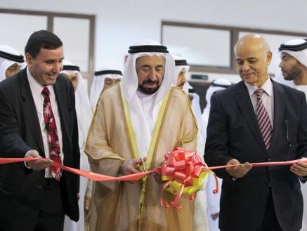 سلطان يشهد ملتقى البحث العلمي في جامعة الشارقة