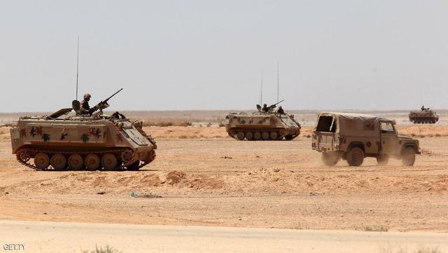 الإرهاب يقتل 6 جنود أردنيين على الحدود مع سوريا