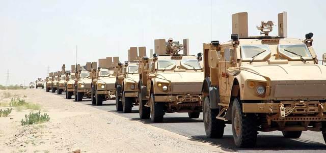 قوات الشرعية تعزز جبهات صنعاء بسلاح نوعي وتتقدم في الجوف وتعز