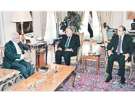 مصر والنرويج تبحثان استئناف عملية السلام وجهود المصالحة الفلسطينية
