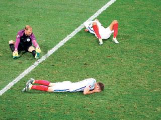 إنجلترا.. «خارج أوروبا» للمرة الثانية !