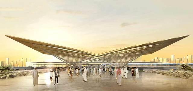 محمد بن راشد يعتمد مسار مترو دبي إلى «إكسبو 2020» بـ 10.6 مليارات درهم