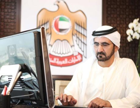 محمد بن راشد أول القادة العرب والثامن عالمياً متابعة على «تويتر»