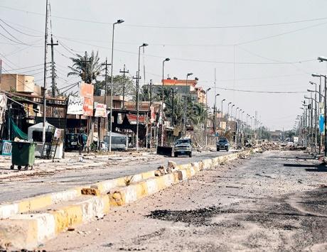 العبادي يدعو العراقيين إلى الخروج والاحتفال باستعادة الفلوجة