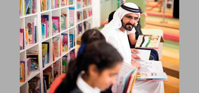 الإمارات «تسقي العقول» بـ 5 ملايين كتاب و2000 مكتبة حول العالم الإسلامي