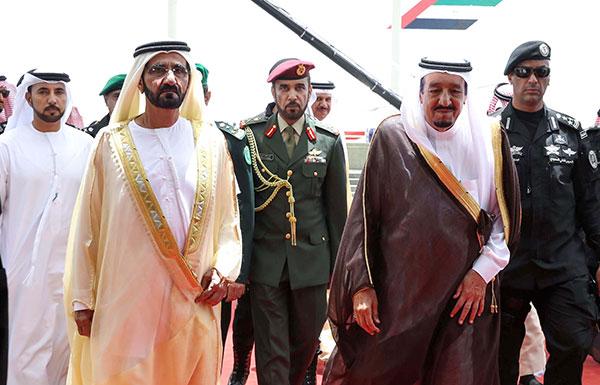 محمد بن راشد: الملك سلمان يقود حراكاً لترسيخ استقرار المنطقة