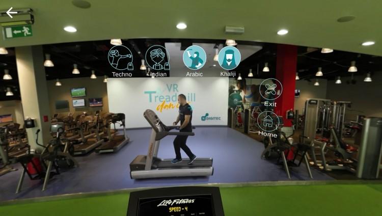 تراقص في خطواتك نحو الرشاقة مع تطبيق VR Treadmill Dancer