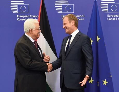 عباس يدعو الاتحاد الأوروبي إلى المساعدة على إنهاء الاحتلال