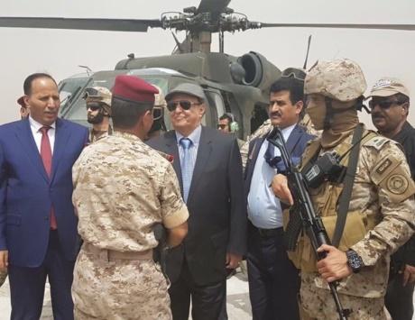 هادي في مأرب: لن تقوم دولة فارسية في اليمن