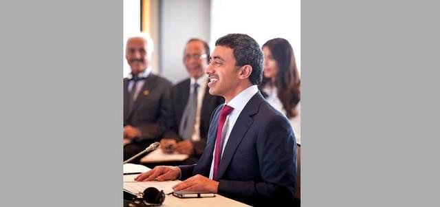 الإمارات تشارك في اجتماع وزراء خارجية «التعاون» ونظيرهم الأميركي