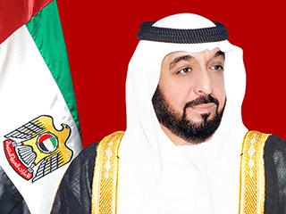 رئيس الدولة ونائبه ومحمد بن زايد يتلقون برقيات تهنئة من البشير بمناسبة عيد الفطر