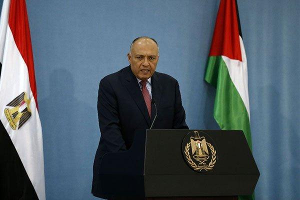 وزير الخارجية المصري يتوجه إلى إسرائيل في زيارة نادرة