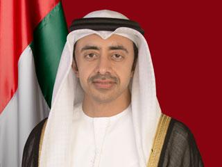 عبدالله بن زايد وجون كيري يبحثان الأوضاع الإقليمية والدولية