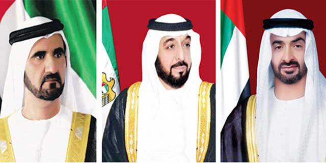 رئيس الدولة ونائبه ومحمد بن زايد يهنئون بذكرى استقلال البهاما