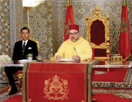 العاهل المغربي يشيد بالعلاقات الاستراتيجية والنموذجية مع دول الخليج