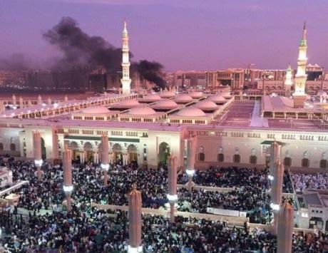 الإرهاب يتجرأ على الحرم النبوي الشريف