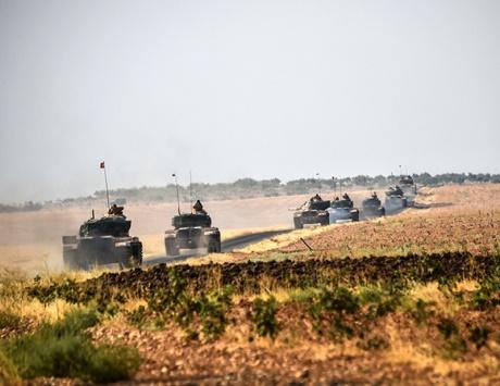 تعزيزات عسكرية تركية إلى سوريا والمعارضة تتقدم جنوبي جرابلس
