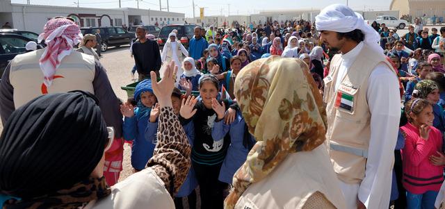 جواهر القاسمي: الإمارات قدوة في العمل الإنساني