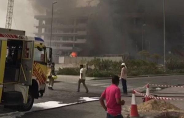 إخماد حريق في شقة سكنية بـ«جميرا سيركل»