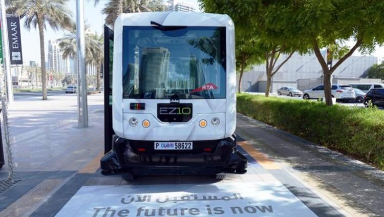 دبي تشغل أول مركبة ذكية ذاتية القيادة غدا الخميس