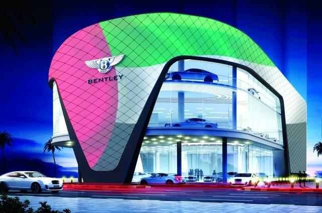 «بنتلي» تفتتح اليوم في دبي أكبر صالة عالمياً