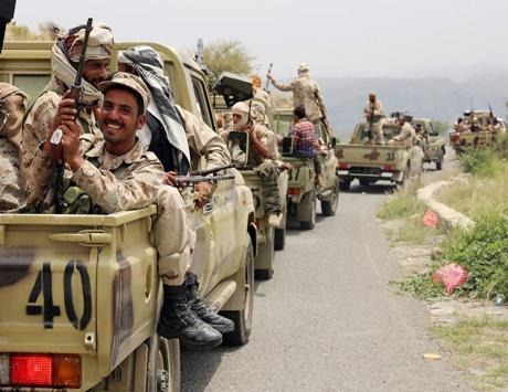 المقاومة تتقدم إلى صنعاء تحت مظلة التحالف