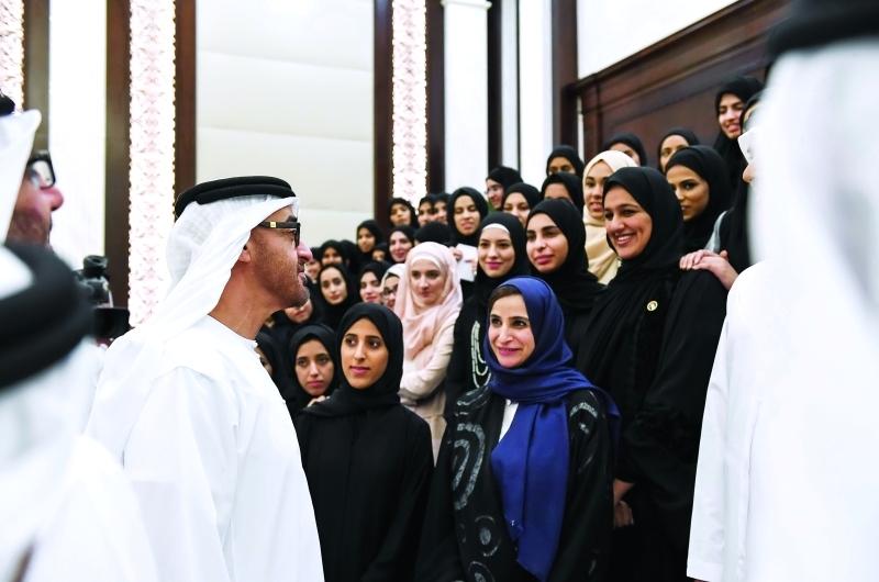 محمد بن زايد: «تمكين المرأة» نهج أسسه زايد وعززه خليفة