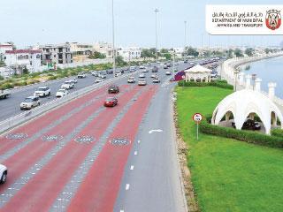 خطة لتخفيف السرعات في مدينة أبوظبي