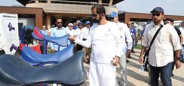 محمد بن راشد يطمئن على جاهزية خيول الإمارات لبطولة العالم للقدرة 2016