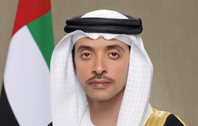 هزاع بن زايد يهنئ رئيس الدولة ونائبه ومحمد بن زايد والحكام وأولياء العهود بعيد الأضحى.