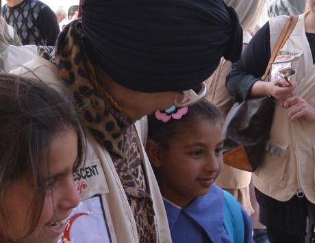 الشيخة جواهر راعياً فخرياً للمبادرة الإنسانية العالمية «جينز للاجئين»