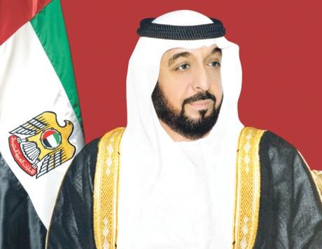 خليفة يتلقى برقية تعزية من أمير الكويت في الشهيد الحبسي